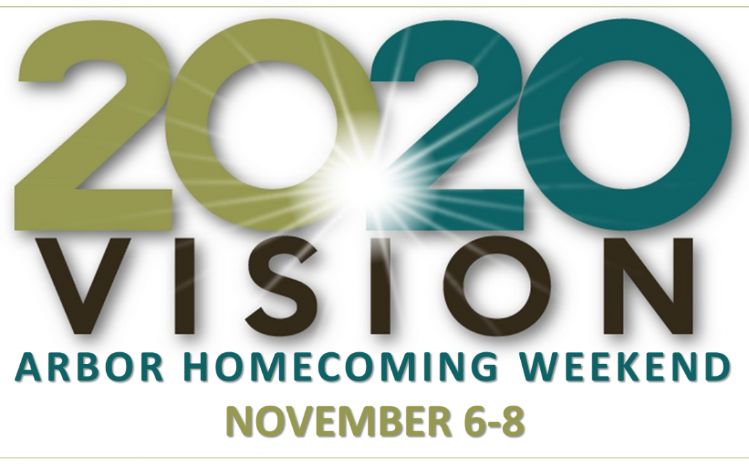 Homecoming Weekend Save the date for 2020!